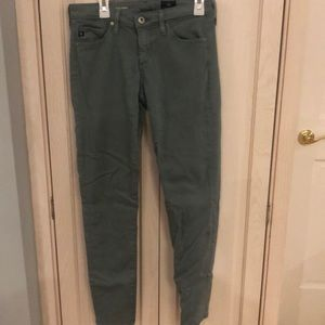 Light blue / green AG Jeans, size 25